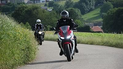 Motorrijles rijtest